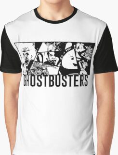 Ghostbusters Comic Book Style Graphic T-Shirt