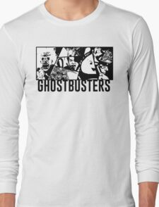 Ghostbusters Comic Book Style Long Sleeve T-Shirt