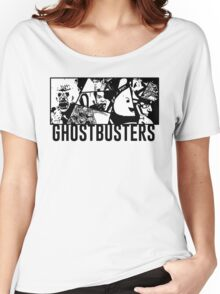 Ghostbusters Comic Book Style Women's Relaxed Fit T-Shirt