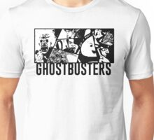 Ghostbusters Comic Book Style Unisex T-Shirt