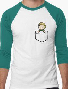 PocketJohn Men's Baseball ¾ T-Shirt