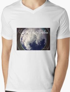 Law of Attraction Mens V-Neck T-Shirt