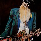 Billy Gibbons by chris benice