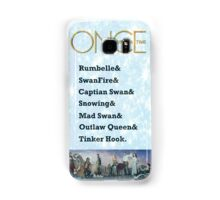 Once Upon a Time Ships Samsung Galaxy Case/Skin