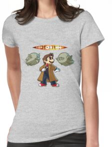 Doctor Mario Womens Fitted T-Shirt