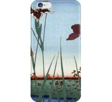 Japanese Irises iPhone Case/Skin