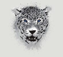 White Tiger - Paint Splatters Dubs T-Shirt Stickers Art Prints by Denis Marsili - DDTK