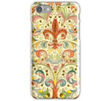 Antique Florentine Paper iPhone Case/Skin