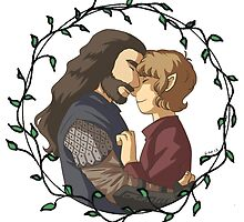 thorin n bilbo by Marie Mikolay
