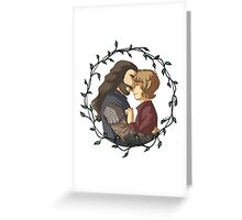 thorin n bilbo Greeting Card
