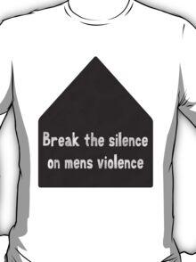 break the silence VAW T-Shirt