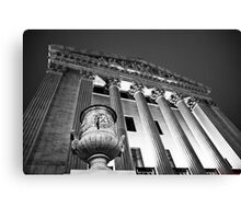 East Side of Supreme Court Building Canvas Print