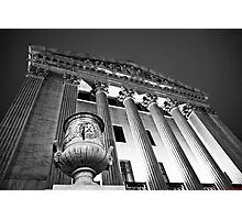 East Side of Supreme Court Building Photographic Print