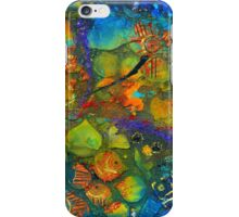 An Aquatic Wine Party iPhone Case/Skin