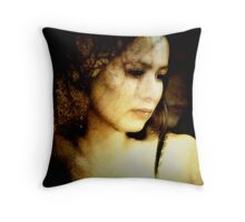 Tree shadows Throw Pillow