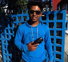 Amar's Smart New English Sunglasses by wiggyofipswich