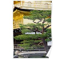 Golden Pavilion in Kyoto Poster