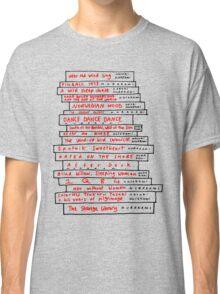 Haruki Murakami Book Fan Classic T-Shirt