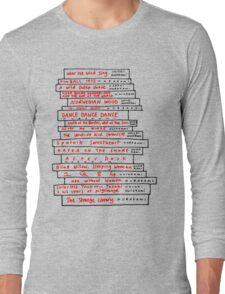 Haruki Murakami Book Fan Long Sleeve T-Shirt