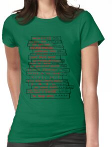 Haruki Murakami Book Fan Womens Fitted T-Shirt