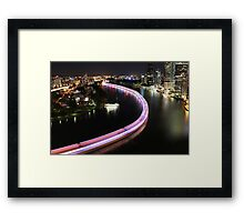 Multishot | Rainbow Serpent Framed Print