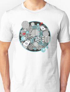 Bird and snow. T-Shirt