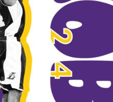"""Kobe"" in Lighter Colors Sticker"