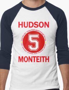 Cory Monteith Men's Baseball ¾ T-Shirt
