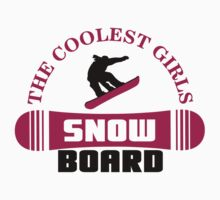 The coolest girls snowboard by nektarinchen