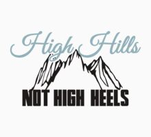 High Hills not high heels by nektarinchen