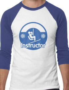 Apres Ski Instructor Men's Baseball ¾ T-Shirt