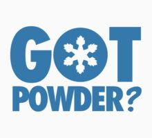 Got Powder? by nektarinchen