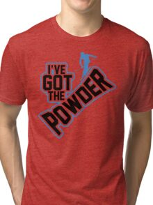 I've got the powder Tri-blend T-Shirt