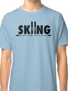 Skiing Classic T-Shirt