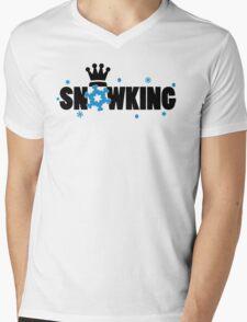 Snowking Mens V-Neck T-Shirt