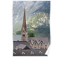 Church in Hallstatt Poster
