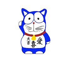 Maneki Neko - Lucky Cat Photographic Print