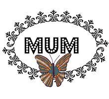 Decorative Butterfly Mum by kasseggs