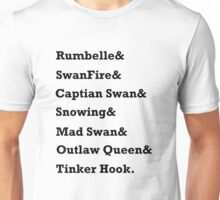 Once Upon a Time Ships Unisex T-Shirt