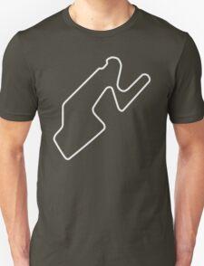 Watkins Glen International [outline] Unisex T-Shirt