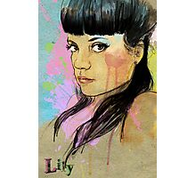 Lily Allen Photographic Print