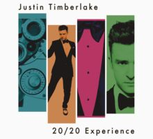 Justin Timberlake 20/20 Experience in Lighter Colors by ArtOnMySleeve