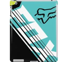 Savant blue green iPad Case/Skin