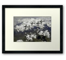D-Day Mustangs Framed Print