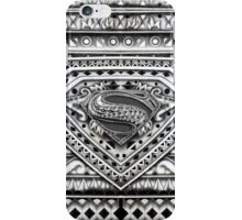 Hope sign Black and white Aztec Pattern iPhone Case/Skin