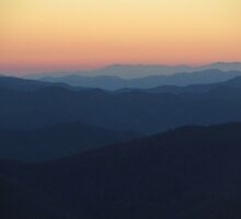 Sunrise at Clingmans Dome by KellieSharpe