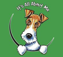 Wire Fox Terrier : Its All About Me Kids Clothes
