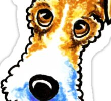 Wire Fox Terrier : Its All About Me Sticker