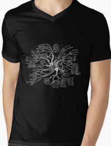 Math tree [dark] Mens V-Neck T-Shirt