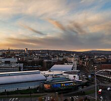 Sheffield town centre by chetanboy